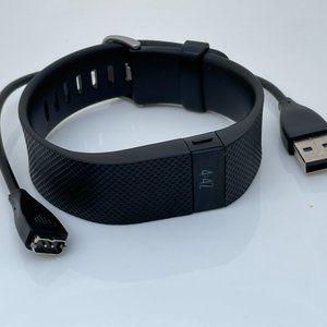 Fitbit Charge HR Activity Tracker Black Smart Brac